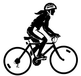bikerider-bw